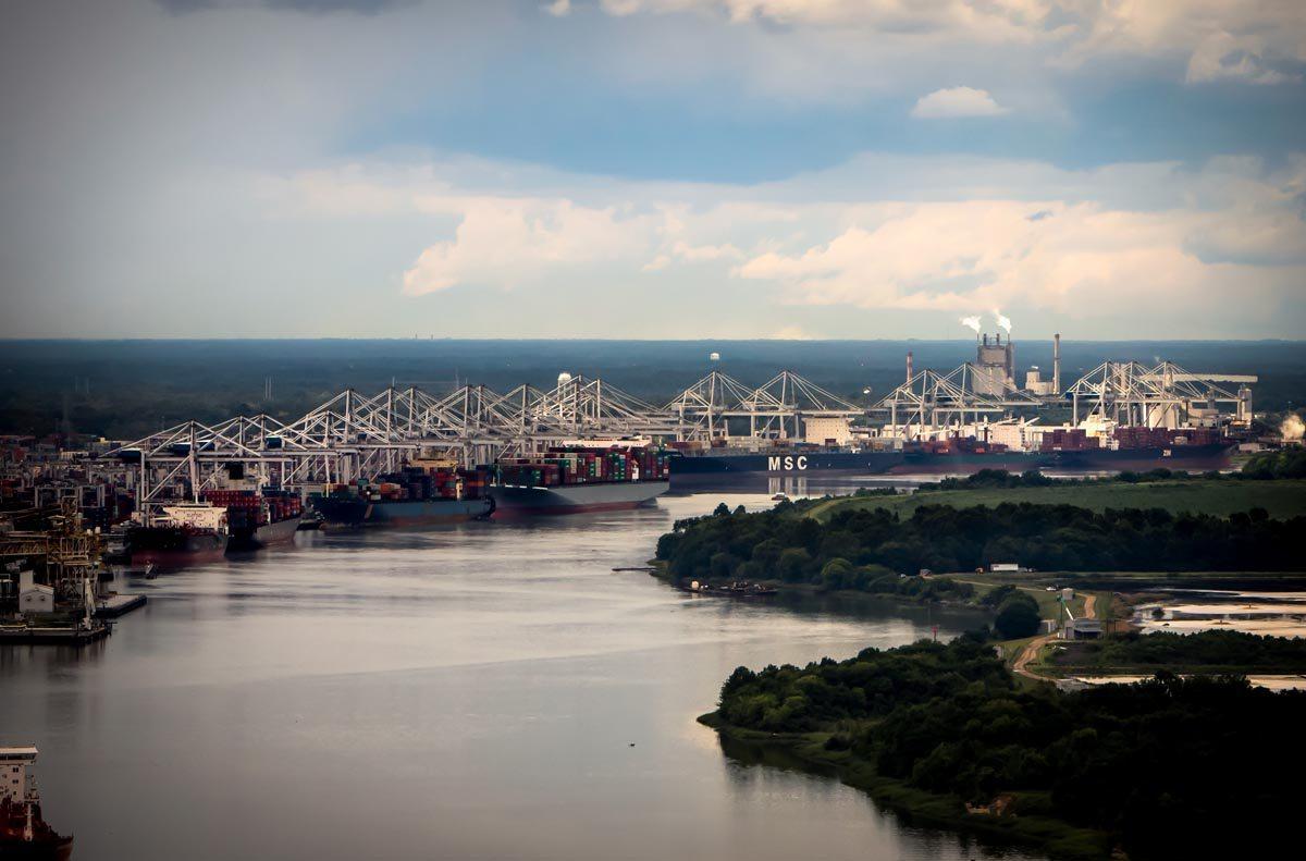 Port of Savannah, GA