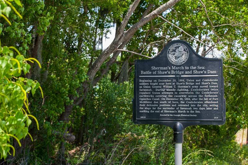 Battle of Shaws Historic Site